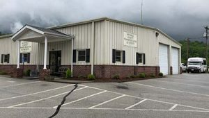 Photo of the Mitchell County Transportation Office in Bakersville, North Carolina