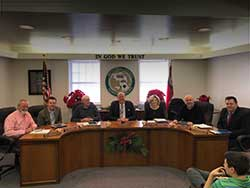 Photo of the Mitchell County Commissioners